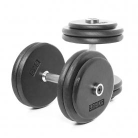 Body Power 27.5kg Pro-style Dumbbells (x2)