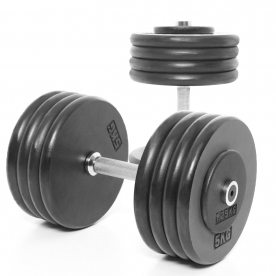 Body Power 42.5Kg Pro-style Dumbbells (x2)