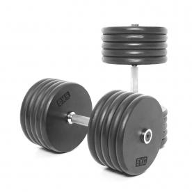 Body Power 50Kg Pro-style Dumbbells (x2)