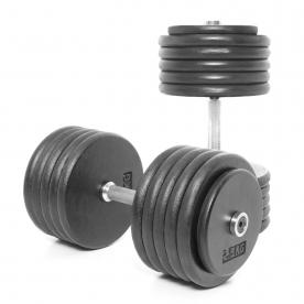 Body Power 55Kg Pro-style Dumbbells (x2)