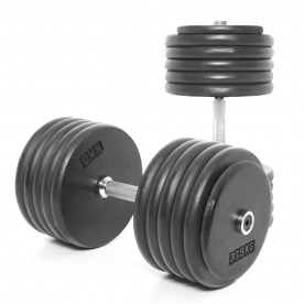 Body Power 57.5Kg Pro-style Dumbbells (x2)
