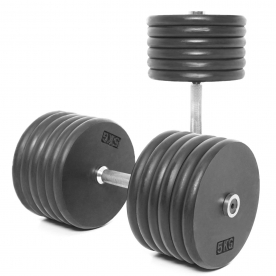 Body Power 60Kg Pro-style Dumbbells (x2)