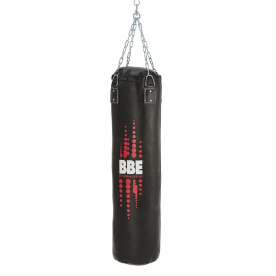 BBE Club Leather 120cm Punch Bag with Chains and Swivel - Northampton Ex-Display Model (Click and Collect Only)