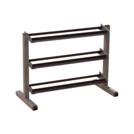 Body-Solid 40 Inch Wide 3 Tier Dumbbell Rack