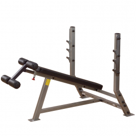 Body-Solid Pro Club-Line Decline Olympic Bench