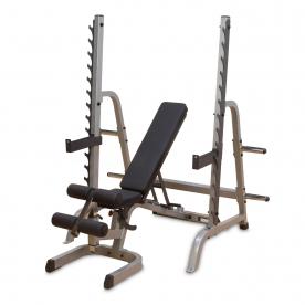 Body-Solid Multi Press Rack Package