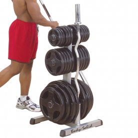 Body-Solid Olympic Weight Tree & Bar Rack - Northampton Ex-Display Model (Collection Only)