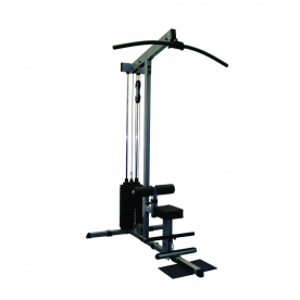 Body-Solid Selectorised Lat Machine with 285lb weight stack