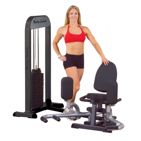 Body-Solid Inner/Outer Thigh Single Station (210lb stack)