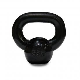 Body Power 8kg Cast Iron Kettle Bell (x1)