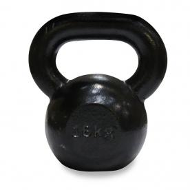Body Power 16Kg Cast Iron Kettle Bell (x1)