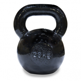 Body Power 28Kg Cast Iron Kettle Bell (x1)
