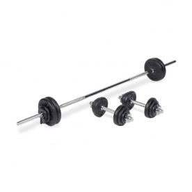 Body Power 50Kg 5FT Combi Standard Weight Set