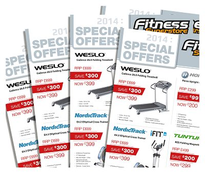 Fitness Superstore brochures