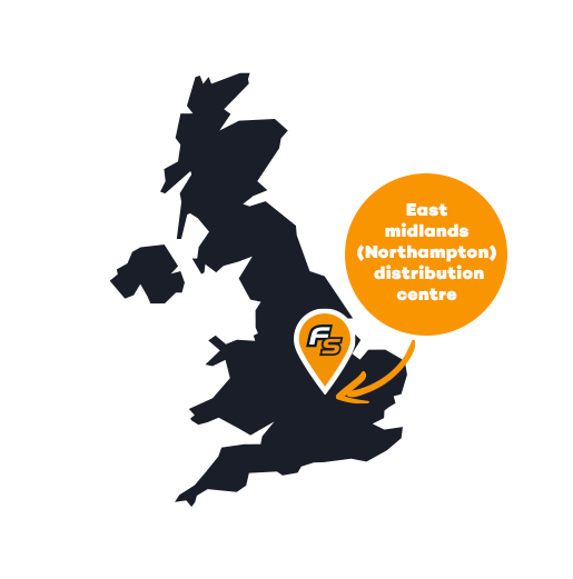 click and collect UK Map