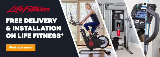 Life Fitness Free delivery