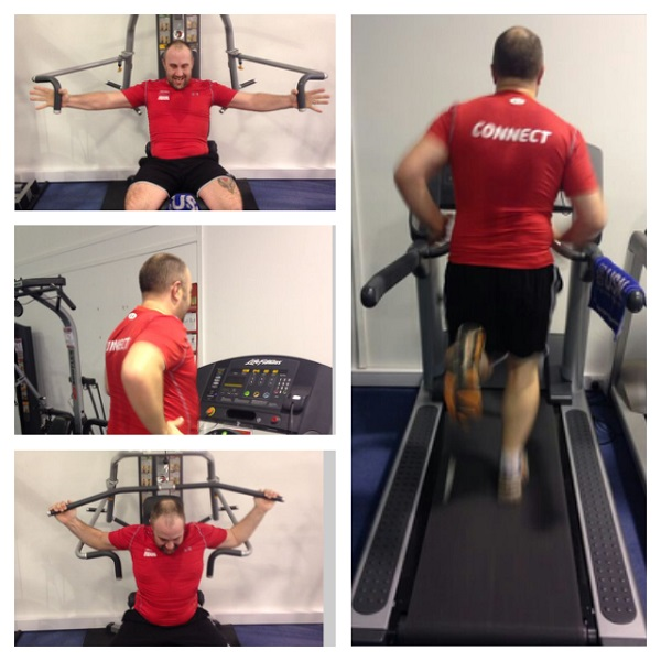 Justin Logan training