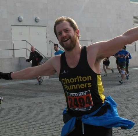 Fitness Superstore's Jony at the Liverpool Half Marathon