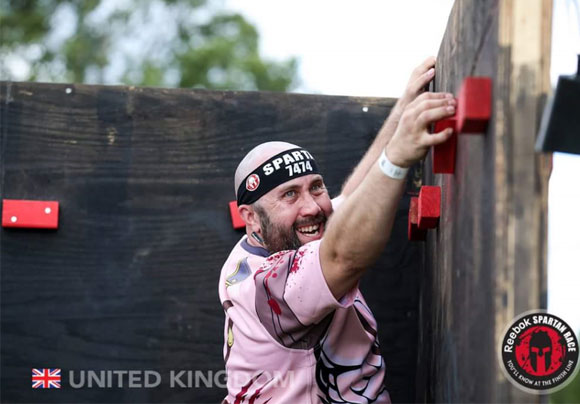 Spartan Race - Traverse Wall