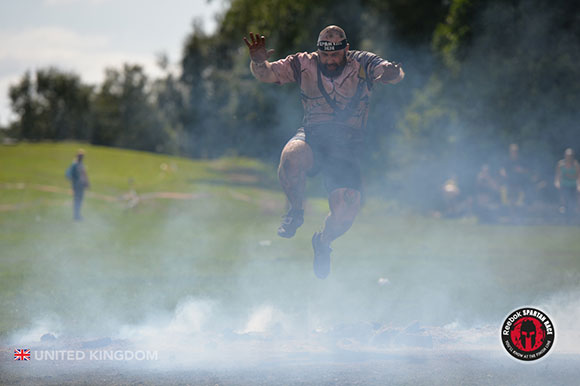 Spartan Race - Fire Jump