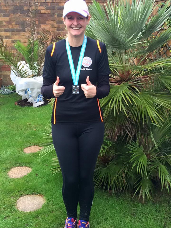 Barbara Wootton, Taking Part in a Half Marathon