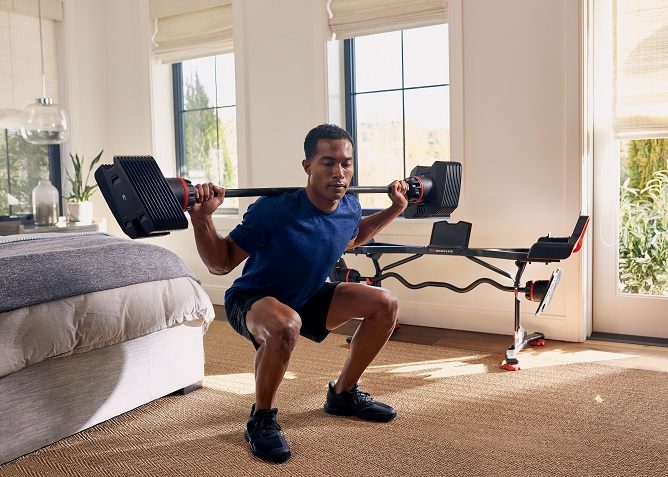 Adjustable Weight Training From Any Home Gym