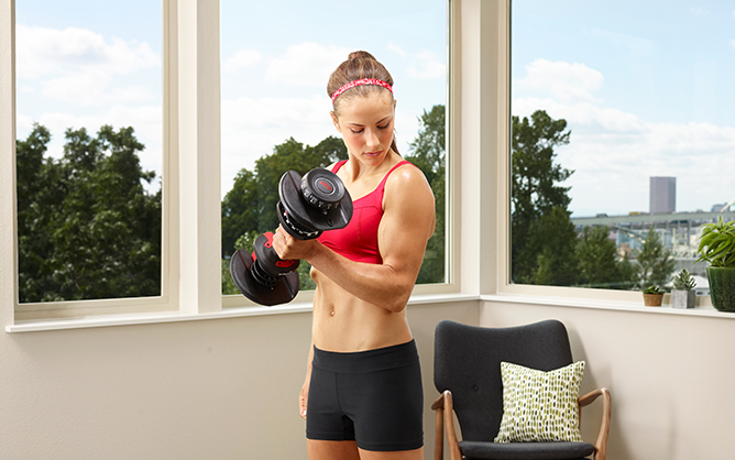 Why adjustable dumbbells are perfect for home training