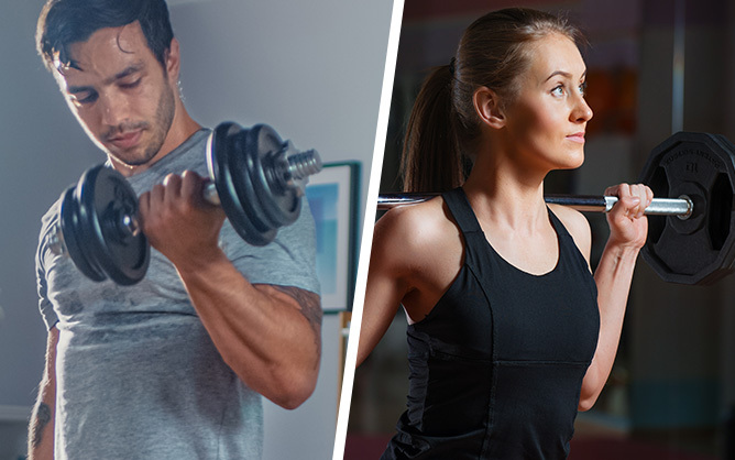 Dumbbells or Barbells – what's best for your training?